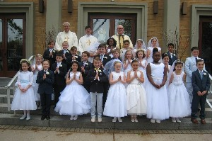 First Communion May 7, 2016